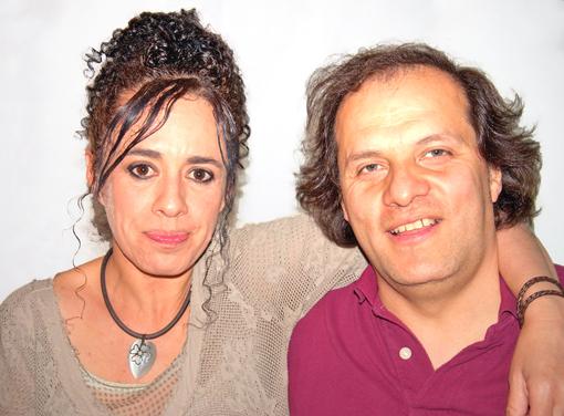 Claudia Sanchez et Ricardo Lopez