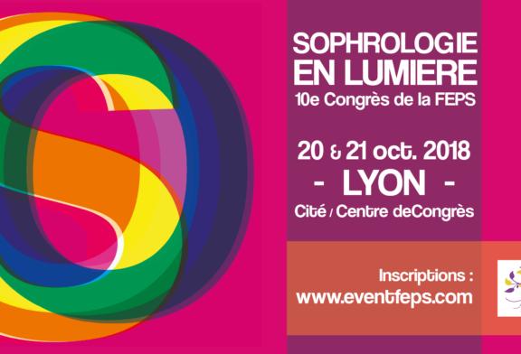 Congrès de Sophrologie 2018 FEPS à Lyon