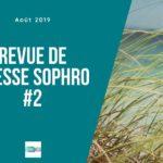 Revue de presse sophro #2 : minceur, équitation, stress, glossophobie