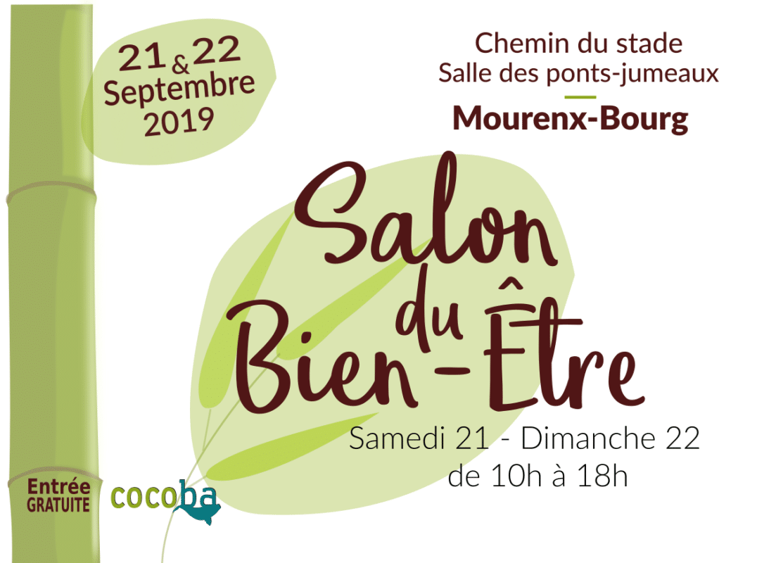 Salon des Outils & Rencontres du Bien-Être – 21 & 22 Septembre 2019 – Mourenx